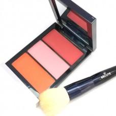Be Cute 3 Color Blush on Matte Colors 04