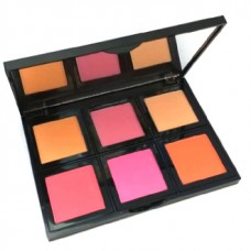 Be Cute 6 Color Blush On Palette Multi Colors