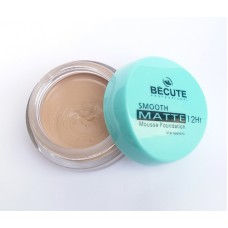 Be Cute Smooth Matte 12Hr Mousse Foundation FS38