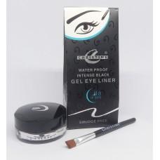 Christine Water Proof Intense Black Gel Eye Liner Black