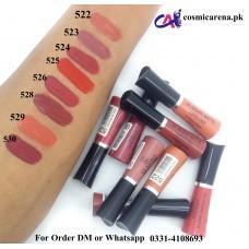 Clazona Lipsticks Matte Permanent Color lip Gloss 24 Hrs Stay 524
