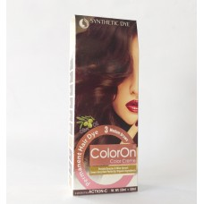 Color On Synthetic Dye Creme Hair Color Shade 03 Medium Brown