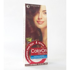 Color On Synthetic Dye Creme Hair Color Shade 04 Light Brown