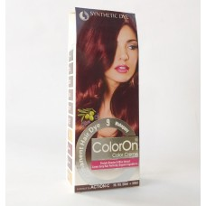 Color On Synthetic Dye Creme Hair Color Shade 09 Mahogany