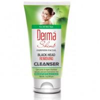 Derma Shine Fairness Facial Black Head Removing Cleanser 200gm