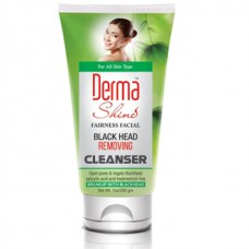 Derma Shine Fairness Facial Black Head Removing Cleanser 200gm