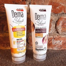 Derma Shine Hand & Feet Lighting Bleach And Bleach Mask