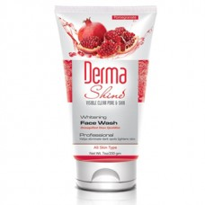 Derma Shine Whitening Face Wash Pomegranate 200gm