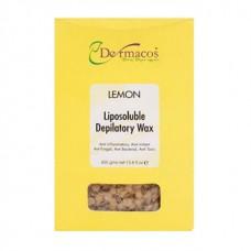 Dermacos Lemon Liposoluble Depilatory Wax 400gm