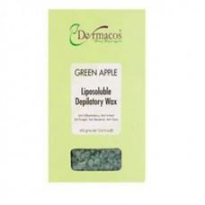 Dermacos Apple Depilatory Wax Beans 400 gm For Women