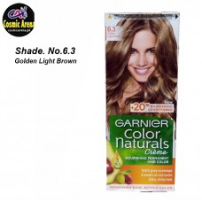 Garnier Hair Color Natural Crème Shade No.6.3 Golden Light Brown