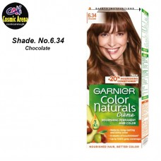 Garnier Hair Color Natural Crème Shade No.6.34 Chocolate