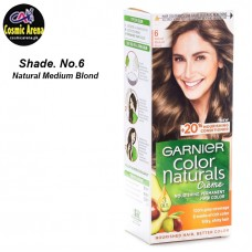 Garnier Hair Color Natural Crème Shade No.6 Natural Medium Brown