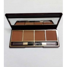 Glamorous Face Contouring Blush On Palette 4 Colors
