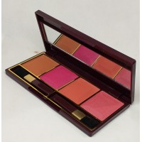 Glamorous Face 4 Color Blush on Palette Gf B