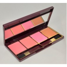 Glamorous Face 4 Color Blush on Palette Gf F