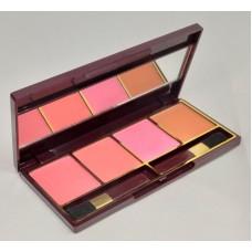 Glamorous Face 4 Color Blush on Palette Gf F