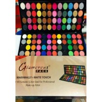 Glamorous Face 96 colors Eye Shadow 48 Makhmali and 48 Matte Color Palette