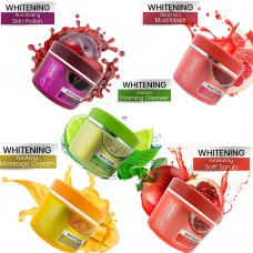 Glamorous Face Facial Pack Of 5 Whitening Facial Jar 500ml