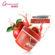 Glamorous Face Whitening Exfoliating Soft Scrub Jar 500ml