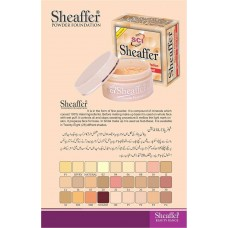 Sheaffer Oil Control And Water Proof Powder Foundation ivory