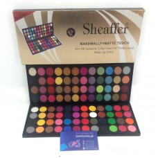 Sheaffer Cosmetics Eye Shadow Palette 96 Colors Matte & Makhmali Shades