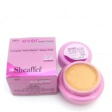 Sheaffer Cosmetics Water Proof Ever Glow Foundation Base Shade Ivory