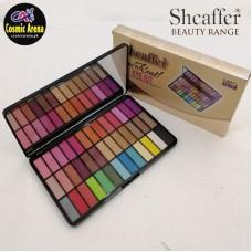 Sheaffer Cosmetics Makhmali Shimmer Eye Shadow Palette 39 Colors